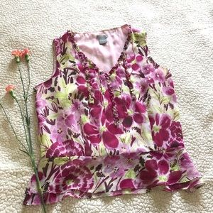 Ann Taylor Floral top